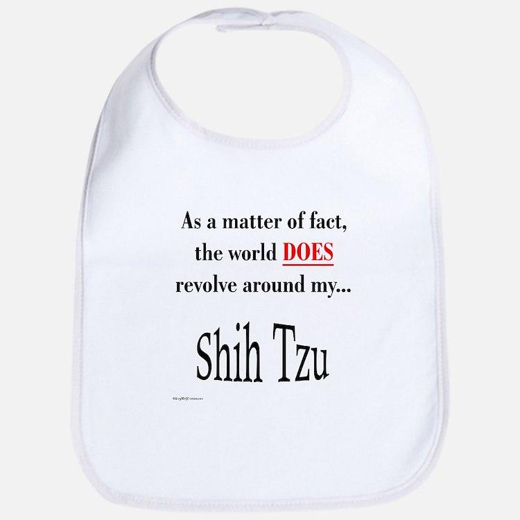 Shih Tzu World Bib