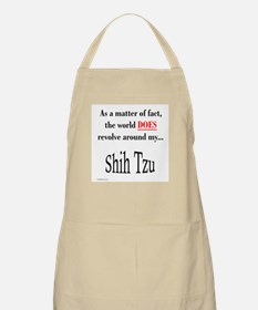 Shih Tzu World BBQ Apron