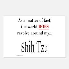 Shih Tzu World Postcards (Package of 8)