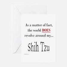 Shih Tzu World Greeting Cards (Pk of 10)