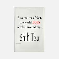 Shih Tzu World Rectangle Magnet