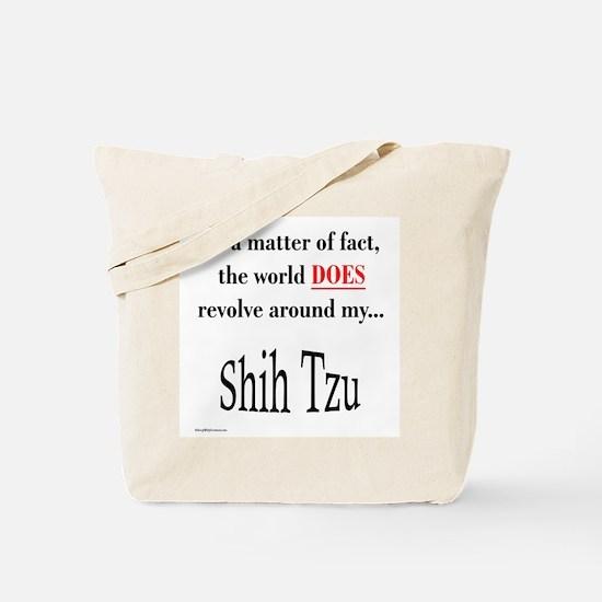 Shih Tzu World Tote Bag