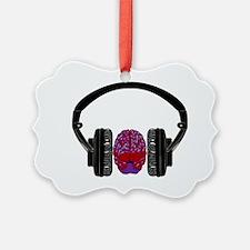 Headphonesbrain26 Ornament