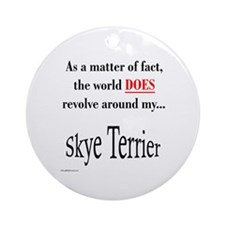 Skye World Ornament (Round)
