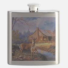 Oh-Deer Flask