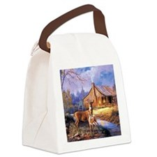 Oh-Deer Canvas Lunch Bag