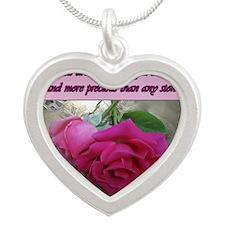 TrueFriends_gc Silver Heart Necklace