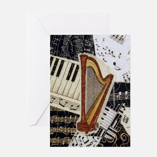 harp-5432 Greeting Card