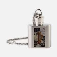 harp-5432 Flask Necklace