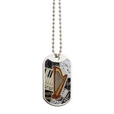 harp-5432 Dog Tags