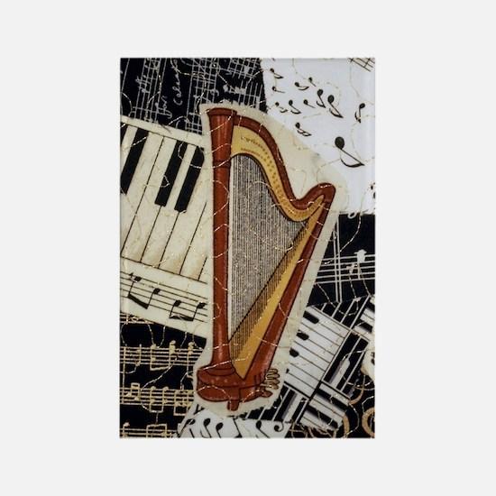harp-5432 Rectangle Magnet
