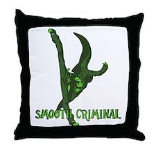 smoothcriminal2 Throw Pillow