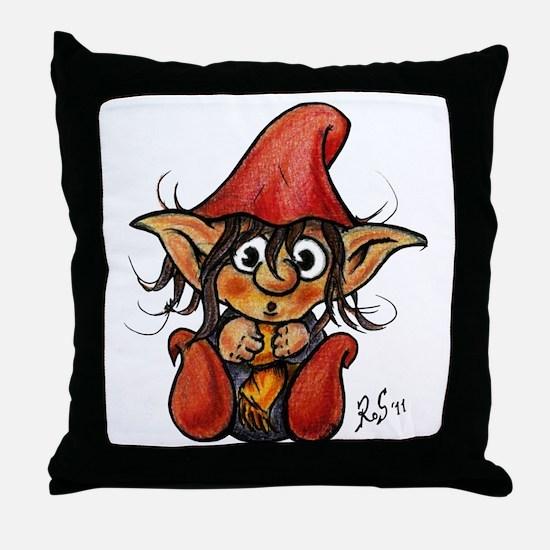 trollelfo_1_v6 Throw Pillow