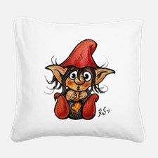 trollelfo_1_v6 Square Canvas Pillow