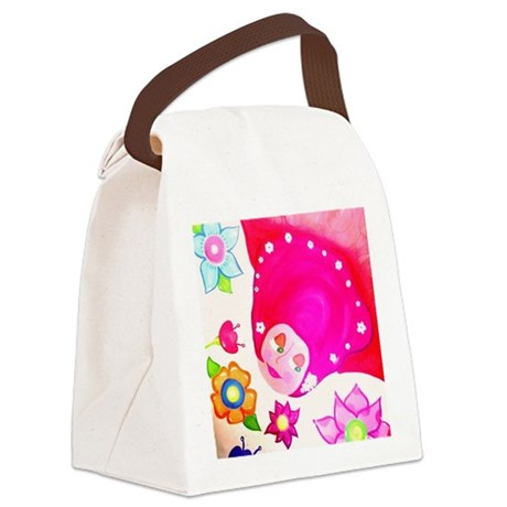 flying Canvas Lunch Bag
