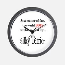 Silky World Wall Clock
