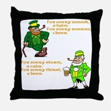 For Every Wound Throw Pillow