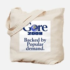 BACKED BY POPULAR DEMAND Tote Bag