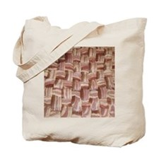 baconweave-square Tote Bag