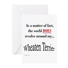 Wheaten World Greeting Cards (Pk of 10)