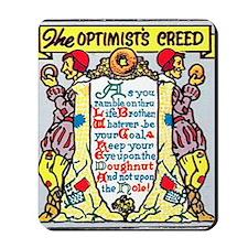 Optimists Creed Mousepad