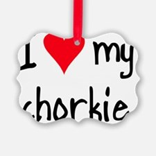 iheartchorkie Ornament