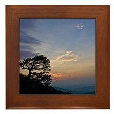 CopyrightSchafer.Appalachian Sunrise_1 Framed Tile