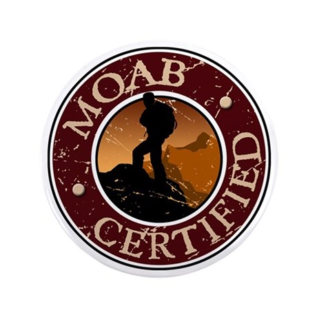 """Moab Ceritfied Hiking 3.5"""" Button"""