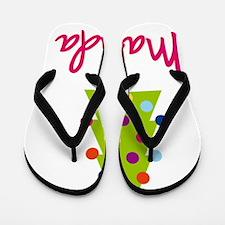 Christmas-tree-Malinda Flip Flops