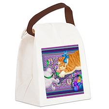 April copy Canvas Lunch Bag