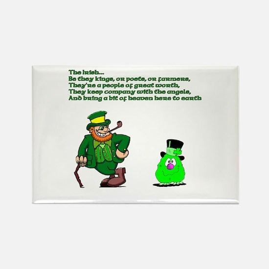 The Irish Rectangle Magnet