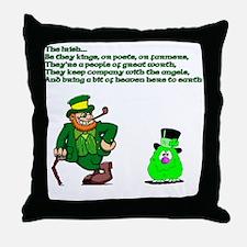 The Irish Throw Pillow