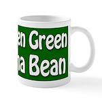 Green Green Lima Bean Coffee Mug