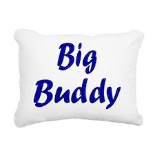big buddy navy Rectangular Canvas Pillow
