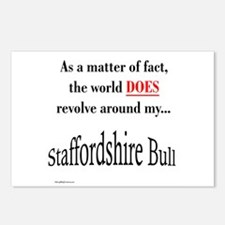 Staffy World Postcards (Package of 8)