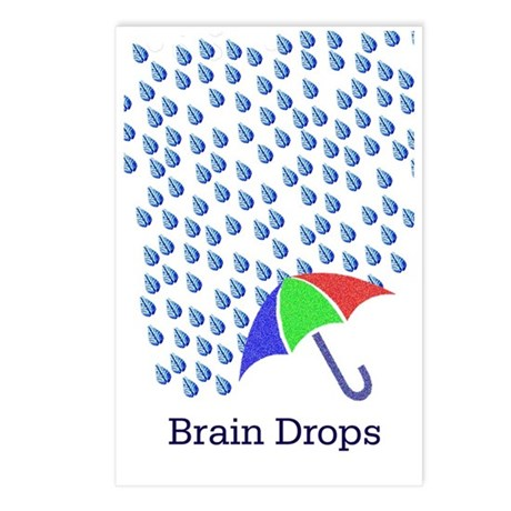 braindropsj Postcards (Package of 8)