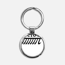OCTO-PI Round Keychain