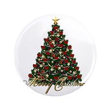 "s4umerrychristmastree 3.5"" Button"