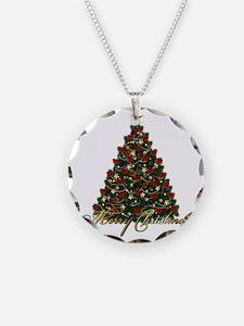 s4umerrychristmastree Necklace