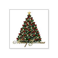 "s4umerrychristmastree Square Sticker 3"" x 3"""