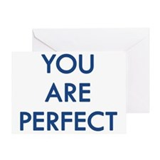perfectwhiteshirt Greeting Card