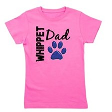 D Whippet Dad 2 Girl's Tee