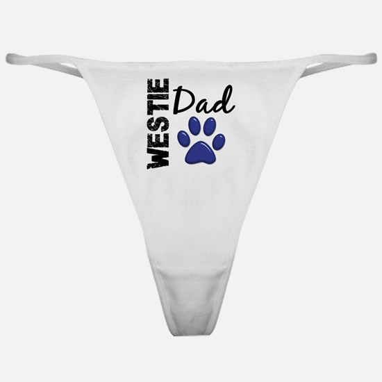 D Westie Dad 2 Classic Thong