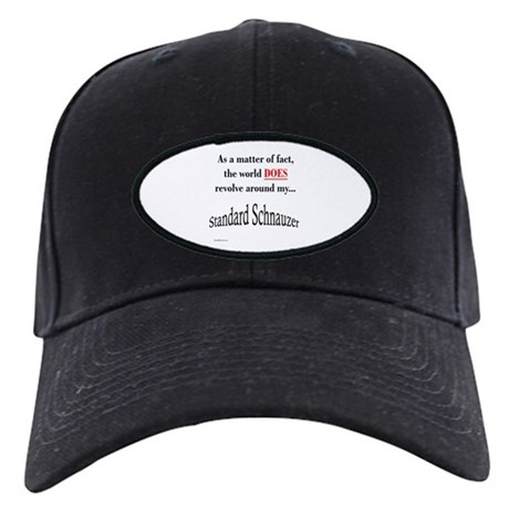 Schnauzer World Black Cap
