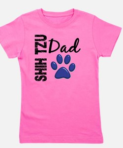 D Shih Tzu Dad 2 Girl's Tee