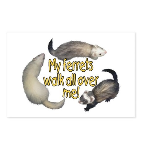 Walk Over Me Postcards (Package of 8)