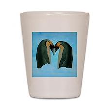 Penguin Love Shot Glass