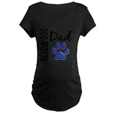D Rescue Dog Dad 2 T-Shirt