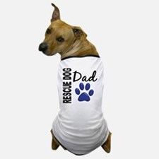 D Rescue Dog Dad 2 Dog T-Shirt