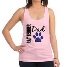 D Rat Terrier Dad 2 Racerback Tank Top